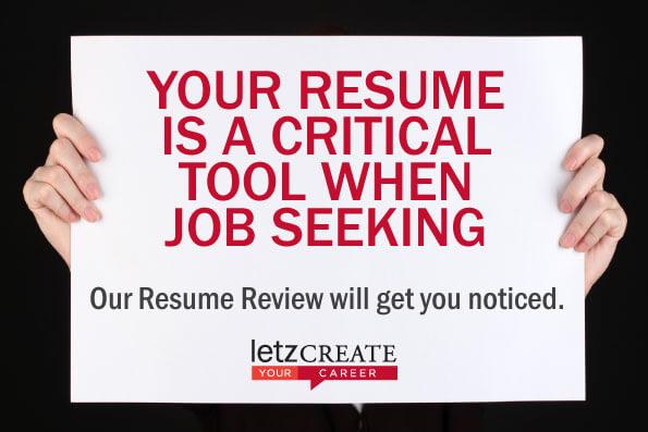 resume review letz create melbourne vic letz create